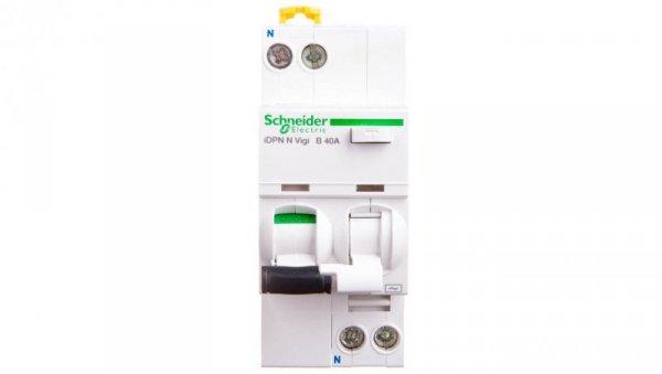 Wyłącznik różnicowo-nadprądowy 2P 40A B 0,03A typ AC iDPN N VIGI A9D55640