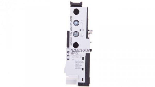 Wyzwalacz podnapięciowy specjalny 18V DC NZM2/3-XUV 259527