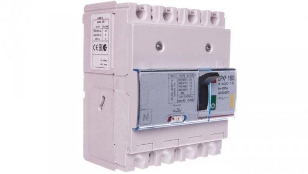 Wyłącznik mocy 4P 100A 16kA DPX3 160 420015
