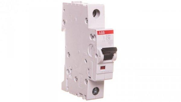 Wyłącznik nadprądowy 1P C 10A 6kA AC S201-C10 2CDS251001R0104