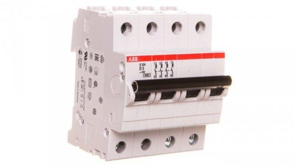 Wyłącznik nadprądowy 4P D 3A 6kA AC S204-D3 2CDS254001R0031