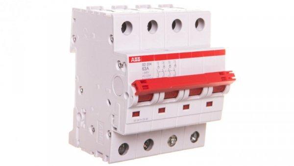 Rozłącznik modułowy 63A 4P SD204/63 2CDD284101R0063