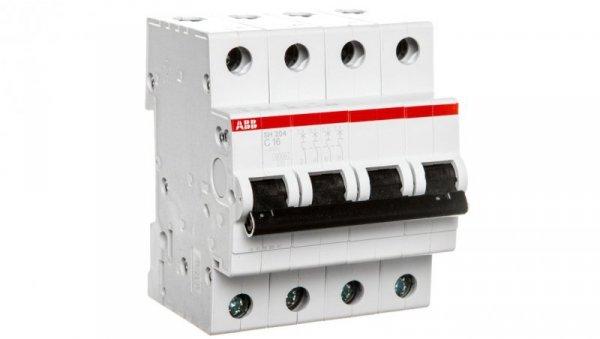Wyłącznik nadprądowy 4P C 16A 6kA AC SH204-C16 2CDS214001R0164