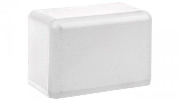 Pokrywa końcowa EKD 80x40mm biała 8501