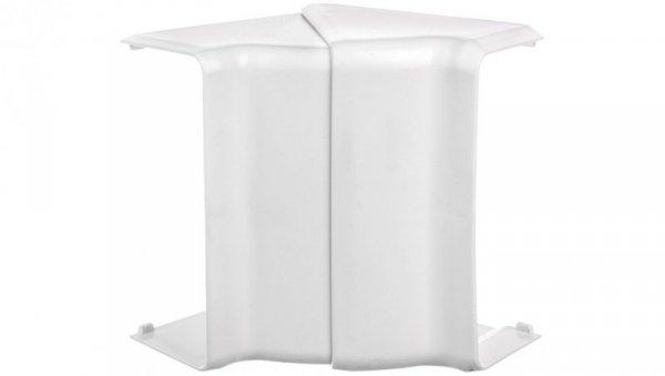 Pokrywa narożna wewnętrzna EKD 100x40mm biała 8515