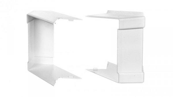 Pokrywa narożna zewnętrzna PK 110x70mm biała 8456
