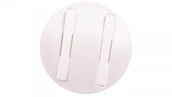 CELIANE Plakietka klawisza podwójnego slim biała 065002