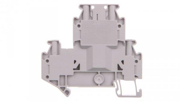 Złączka szynowa rozłączalna 4-przewodowa 2,5mm2 szara UTTB 2,5-TG-P/P 3044644 /50szt./
