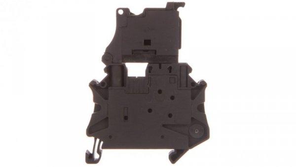 Złączka szynowa z bezpiecznikiem 5x20 6,3A 2-przewodowa 4mm2 czarna UT 4-HESILED 24-P/P 3046540 /50szt./