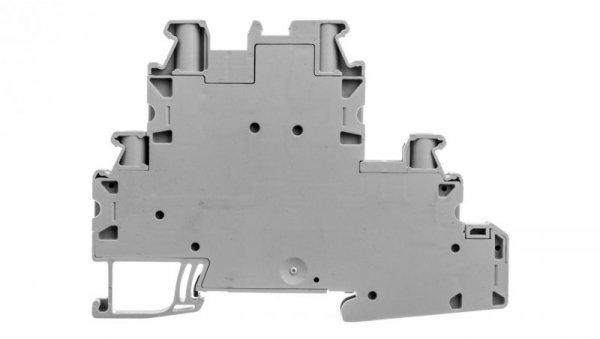 Złączka szynowa 3-piętrowa 4-przewodowa 4mm2 szara UT 4-L/L 3214362 /50szt./