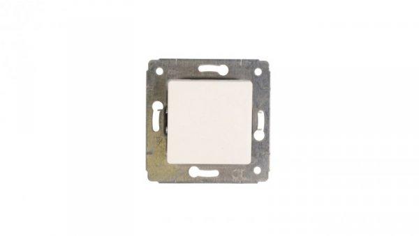 CARIVA Łącznik jednobiegunowy 10AX biały 773601