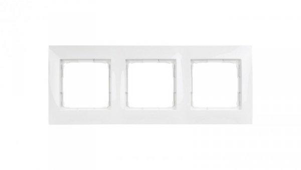 Simon 54 Premium Ramka potrójna biała DR3/11