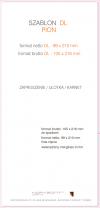 ulotka DL, druk pełnokolorowy obustronny 4+4, na papierze kredowym, 170 g, 2500 sztuk