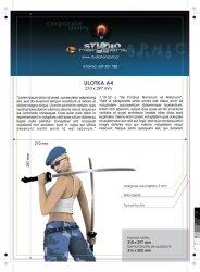 Dyplomy / licencje - 297 x 210 mm, druk jednostronny pełnokolorowy 4+0, satyna 300g - 100 sztuk