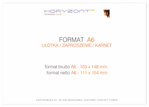 zaproszenie - karta A6, druk dwustronny, kreda 350 g, bez folii, 200 sztuk