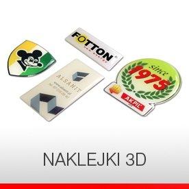 NAKLEJKI 3D