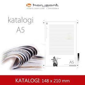 Katalog A5 - 210 x 148 mm