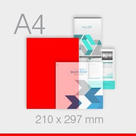 ulotki A4 Ekspres - 210 x 297 mm