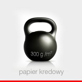 papier kredowy 300 - 350 g