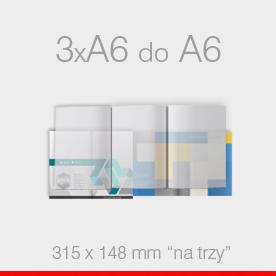 ulotki składane 3 x A6 do A6 Ekspres