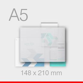 karty, zaproszenia - format A5 - 148 x 210 mm