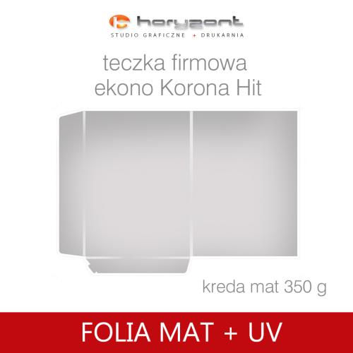 Korona Hit foliowane mat + uv