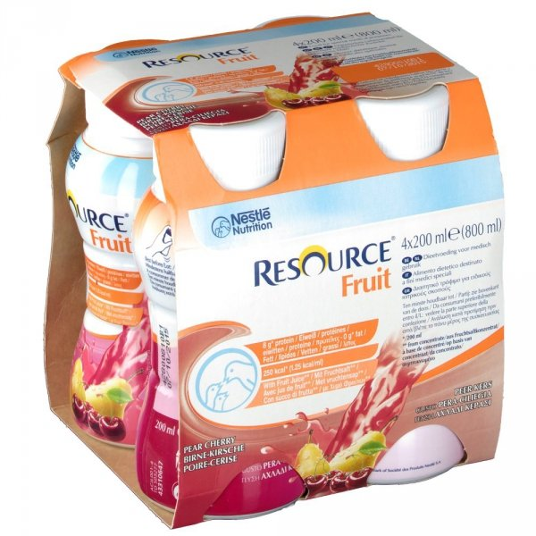 Resource Fruit - 4x200ml