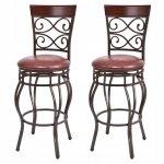 Hoker - krzesło barowe obrotowe 2 sztuki