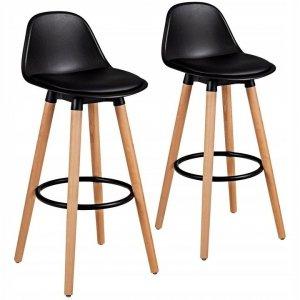 Hoker stołek barowy zestaw 2 szt.