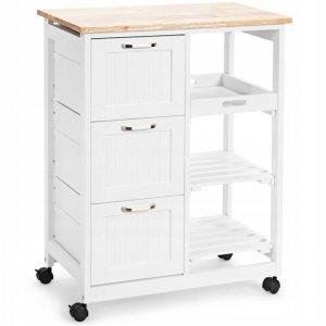 Wózek kuchenny szafka na kółkach