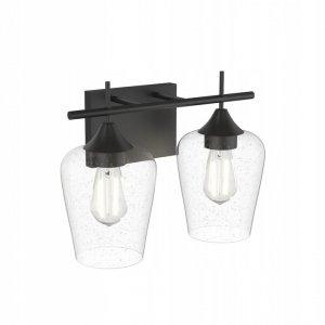 Lampa ścienna kinkiet z 2 kloszami