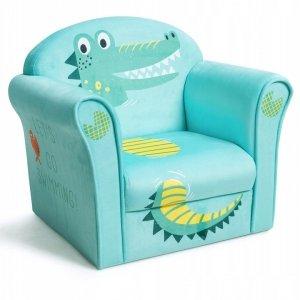 Fotelik dla dziecka z oparciem krokodyl