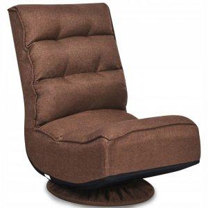 Fotel podłogowy obrotowy regulowany