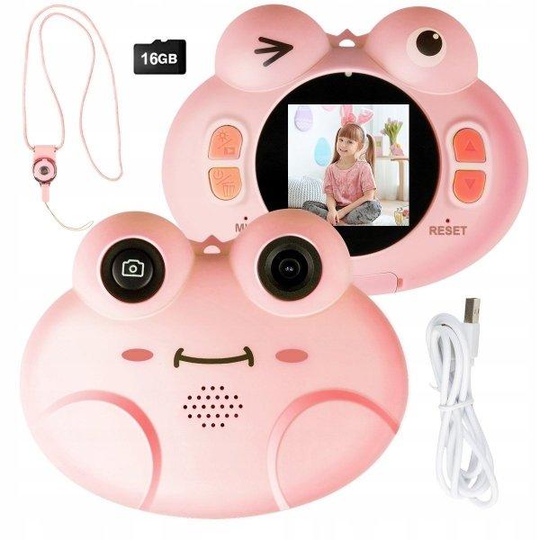Aparat cyfrowy kamera hd dla dzieci 16gb usb