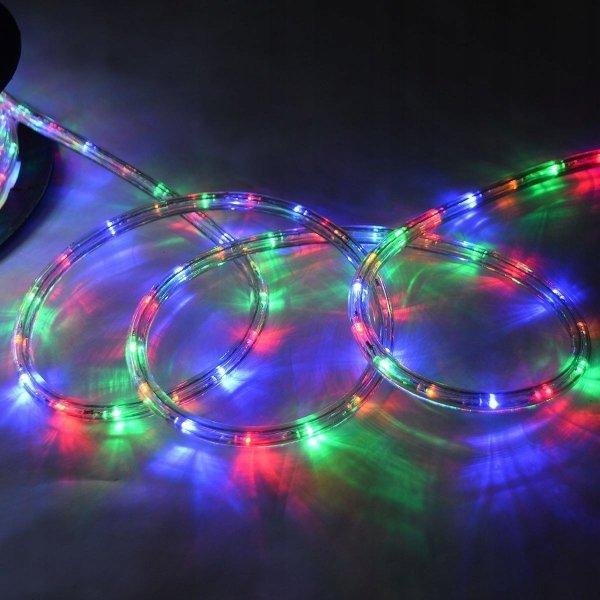 Wąż świetlny kolorowy led 20m