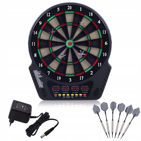 Elektroniczna tarcza do gry w darta rzutki   lotki