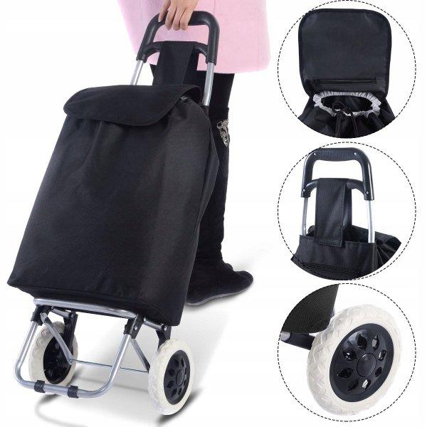 Wózek zakupowy torba na zakupy na kółkach