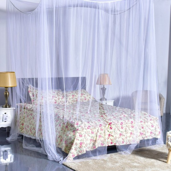 Baldachim nad łóżko moskitiera 220x200cm