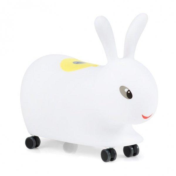 Jeździk dla dzieci królik z muzyką i światełkami