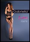 Bielizna-Rajstopy Strip Panty Kabaretka EROTICA STRIP PANTY 151 Czarne M/L
