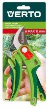 Sekator ogrodowy kowadełkowy, regulacja rozstawu, średnica cięcia 12 mm