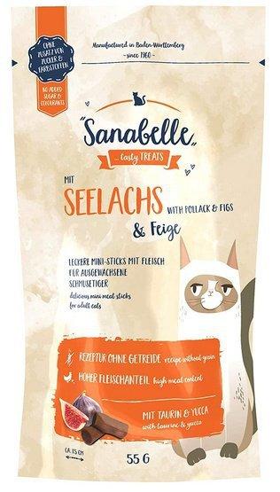 Sanabelle Snack Mintaj & Figi 55g