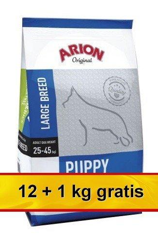 Arion Original Puppy Large Chicken & Rice 13kg (12+1kg gratis)