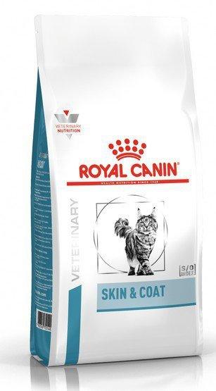 Royal Canin Veterinary Care Nutrition Feline Skin & Coat 1,5kg