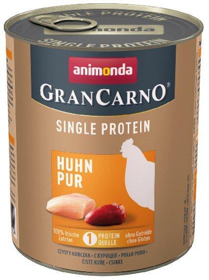 Animonda GranCarno Single Protein Kurczak puszka 800g