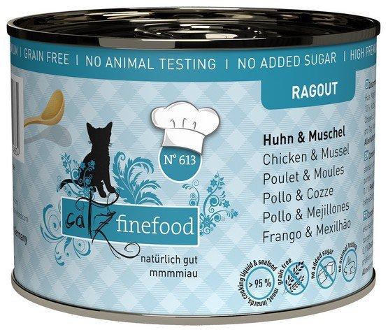 Catz Finefood Ragout N.613 Kurczak i Omułek puszka 180g