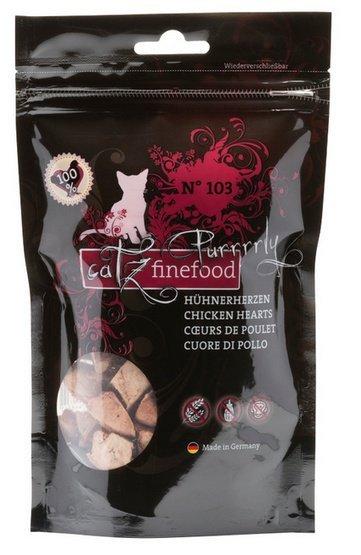 Catz Finefood Purrrrly N.103 Serca kurczaka 35g