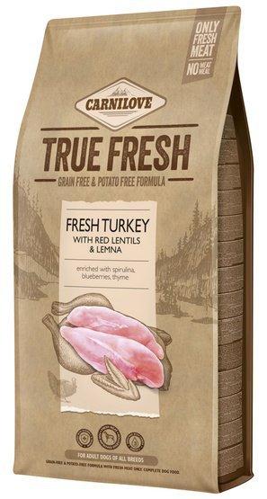 Carnilove Dog True Fresh Turkey Adult - indyk 11,4kg