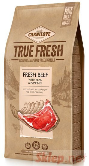 Carnilove Dog True Fresh Beef Adult - wołowina 11,4kg