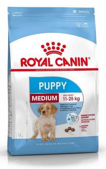 Royal Canin Medium Puppy karma sucha dla szczeniąt, od 2 do 12 miesiąca, ras średnich 1kg